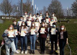 Die Teilnehmenden am TOEFL-Test